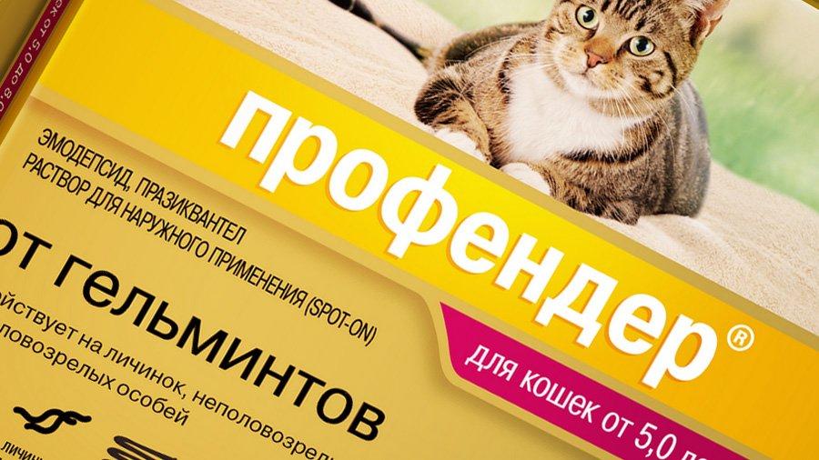 Профендер для кошек эффективное действие Инструкция по применению профендера для кошек