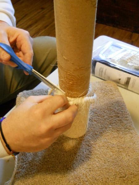 Материалы для когтеточки своими руками 34